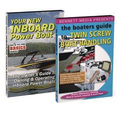 Bennett DVD - Boaters Guide to Inboard Power & Twin Screw Boat Handling DVD Set - https://www.boatpartsforless.com/shop/bennett-dvd-boaters-guide-to-inboard-power-twin-screw-boat-handling-dvd-set/