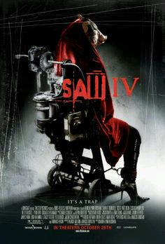 Saw IV Not the best one in the series, raised a lot of questions but gave some great background into Jigsaw.