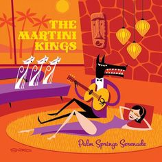new martini kings cd with shag cover art -- Tiki Central