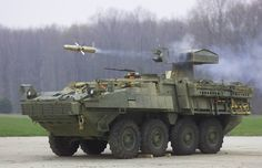 Stryker light armored fighting vehicle...