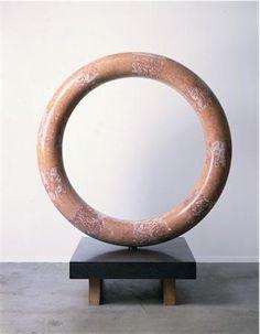 Isamu Noguchi- Sun at Noon 61 x 61 x 8 1/4 in. (154.9 x 154.9 x 21 cm) Base: 13 x 35 3/8 x 35 3/8 in. (33 x 89.9 x 89.9 cm)