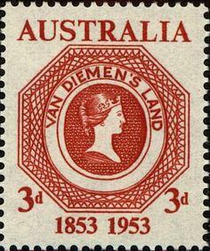 Tasmania Postage 100th