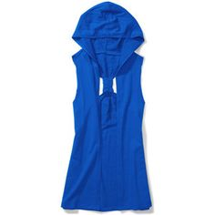 Miley Cyrus & Max Azria - Juniors French Terry Hooded Vest