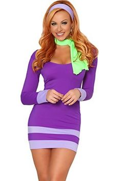 Get your sexy Halloween costume ideas here! The sexiest cosplay from comic-con and everywhere else. Women and men in hot sexy costumes. Halloween Costumes For Girls, Adult Costumes, Costumes For Women, Cosplay Costumes, Girl Halloween, Scooby Doo Costumes, Costume Halloween, Daphne Scooby Doo Costume, 50s Costume
