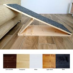 Dog Ramp Pet Ramp Portable ramp for your pet with adjustable Dog Steps For Bed, Dog Ramp For Bed, Pet Ramp, Pet Steps, Portable Dog Kennels, Portable Ramps, Niche Chat, Silo House, Animal Gato