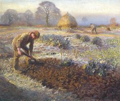 'A Frosty March Morning', Sir George Clausen | Tate