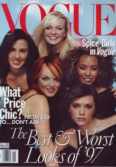 Spice Girls! Before there was Beliebers, there was GIRL POWER!