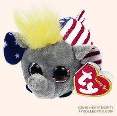 3cd03a6a7c5 Vote (Republican) - elephant - Teeny Tys Ty Plush