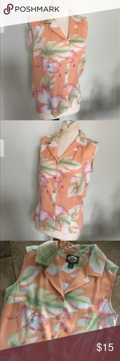Tommy Bahama Shirt Sz XS Excellent condition/worn once.100% silk.sz XS. Tommy Bahama Tops Button Down Shirts