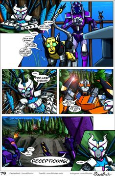 Shattered Glass Prime - Page 79 by SoundBluster on DeviantArt Transformers Prime, Optimus Prime, Ben Tennyson, Monster Musume, Shattered Glass, Loki, Robots, Brave, Sassy