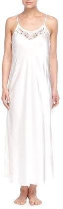 MENG Satin Slip Nightgown, White http://www.movetivate.net/r.php?link=1854 #fitness #sexy #hot #motivation #progress