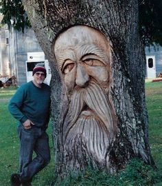 wood spirit carving | My First Tree Troll - Woodcarving Illustrated Message Board: