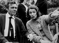"""Patricia Neal Story, The"" Dirk Bogarde and Glenda Jackson. 1981"