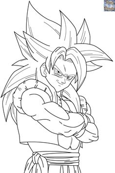 50 Desenhos Do Goku Para Colorir Anime Dragon Ball Z Dragon Ball