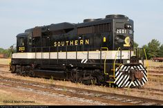 RailPictures.Net Photo: SOU 2601 Southern Railway EMD GP30 at Spencer, North Carolina by Matt Guerrant-mbgphoto79