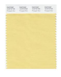 Pantone Smart Swatch 12-0718 Pineapple Slice. Lightly softened.