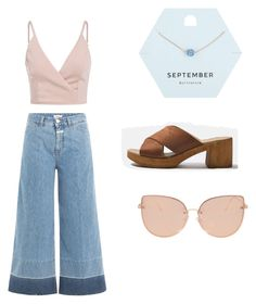 """yum"" by louiza-ap on Polyvore featuring Closed, Miss Selfridge and Topshop"