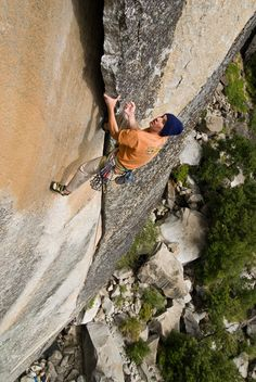 Alex Honnold, Greatest free soloist ever.