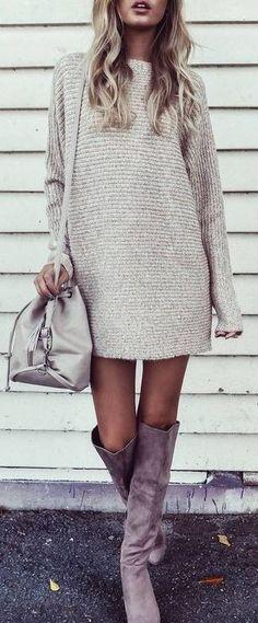 Knit + Suede