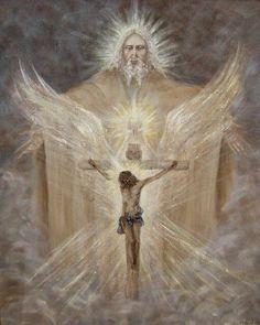 """""""Porque Deus amou o mundo de tal maneira que deu o seu Filho unigênito, para que todo aquele que nele crê não pereça, mas tenha a vida eterna.  Porque Deus enviou o seu Filho ao mundo, não para que condenasse o mundo, mas para que o mundo fosse salvo por ele..."""" (Jo. 3, 16-21)."""