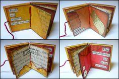 #matchbookart #mixedmedia #matchbox  #tinybooks