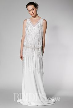 Brides.com: . Wedding dress by Charlie Brear