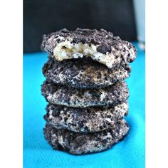 Pass the Plate Oreo Cheesecake Cookies ❤ liked on Polyvore