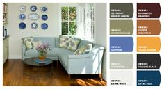 Colorful Rugs In Living Room Colour Palettes