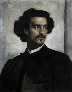 Anselm Feuerbach - Self Portrait [1873]