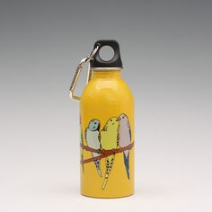 Parakeet 13oz Water Bottle, now featured on Fab.