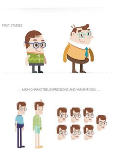Concept Art and Character Animation on Behance