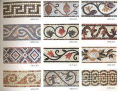 roman mosaic patterns designs - Google Search