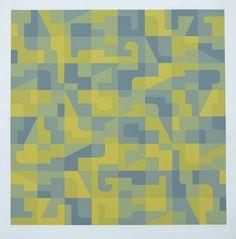 Norman Ives silkscreen print
