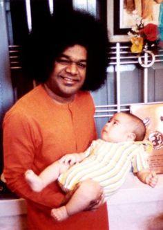 Sri Sathya Sai Baba Sathya Sai Baba, Sai Ram, Cosmic, Meditation, Angels, Spirituality, Lord, India, Grow Taller