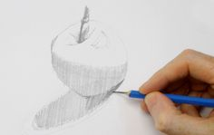how to shade with a pencil – step by step drawing demonstration