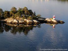 Archipiélago de Estocolmo en el Mar Báltico – Suecia