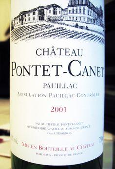 2001 Château Pontet-Canet Pauillac #wine