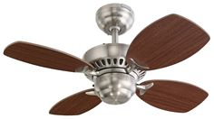 Shown in picture: Montecarlo Ceiling Fan Model 4CO28BS -  (click on picture to close)