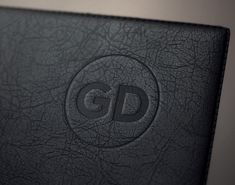 Realistic embossed leather effect to mock-up your logo. Embossed Logo, Mockup, Logos, Leather, Free, Logo, Miniatures, Model