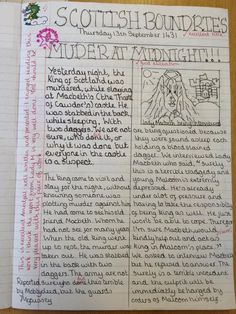 Blog about using Macbeth in the classroom
