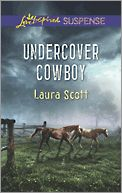 Undercover Cowboy by Laura Scott FBI agent Logan Quail puts his life & career in jeopardy when he blows his cover to save Kate Townsend's life. Unable to save his fiancée from Bernardo Salvatore's violent mafia syndicate, he'll make sure that Kate Townsend doesn't get herself killed trying to prove her father was murdered. Now Logan and Kate must work together, each overcoming their separate grief, to bring down a ruthless mob boss. And maybe find some peace through the healing power of…