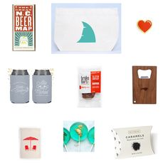 Fun Donut Design Medium Glossy Gift Bag Birthday Present