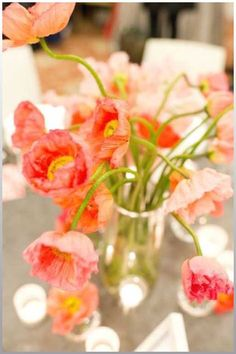 Easy and elegant wedding centerpieces and flower arrangements