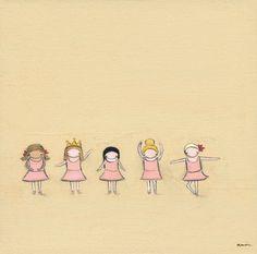 Tiny Dancers Canvas Reproduction <3 it!