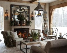 Image result for Outdoor Room Holiday decorating