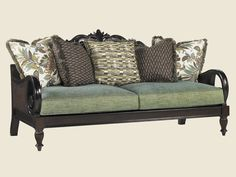 British Colonial sofa  Lexington Furniture