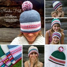 NEW PATTERN: The Nordic Hat