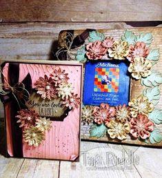 OSAT Blog Hop, Shabby Chic Handmade card and Frame, Stampin' Up! Grateful Bunch Stamp Set, Tina's Crop Shop