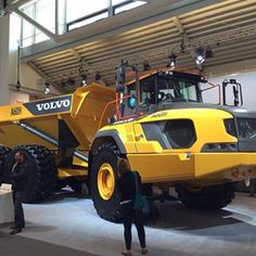 mascusptVolvo A60H on display at #bauma. #bauma2016 #ritchiebros #rbauction #Volvo #VolvoCE #artic #articluateddumptruck #construction #Munich #Germany #yellowiron : @ritchiebros