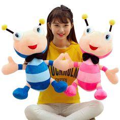 $13.28 (Buy here: https://alitems.com/g/1e8d114494ebda23ff8b16525dc3e8/?i=5&ulp=https%3A%2F%2Fwww.aliexpress.com%2Fitem%2FStuffed-toys-30cm-piece-kawaii-plush-toys-cute-ant-bee-plush-doll-stuffed-animal-soft-toys%2F32458352194.html ) Stuffed toys 30cm/piece kawaii plush toys cute ant bee plush doll stuffed animal soft toys for children birthday gift for just $13.28